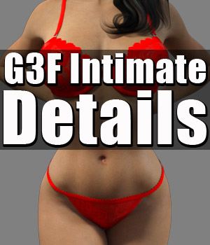 G3 Intimate Details 3D Figure Assets powerage