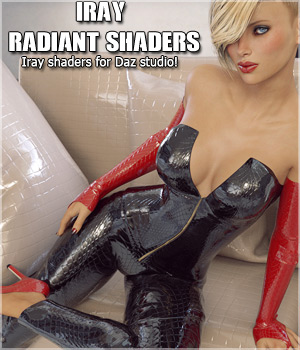 Iray Radiant Shaders 3D Figure Assets Merchant Resources lilflame