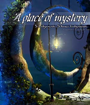 A place of mystery 2D backgrounds 2D Graphics bonbonka