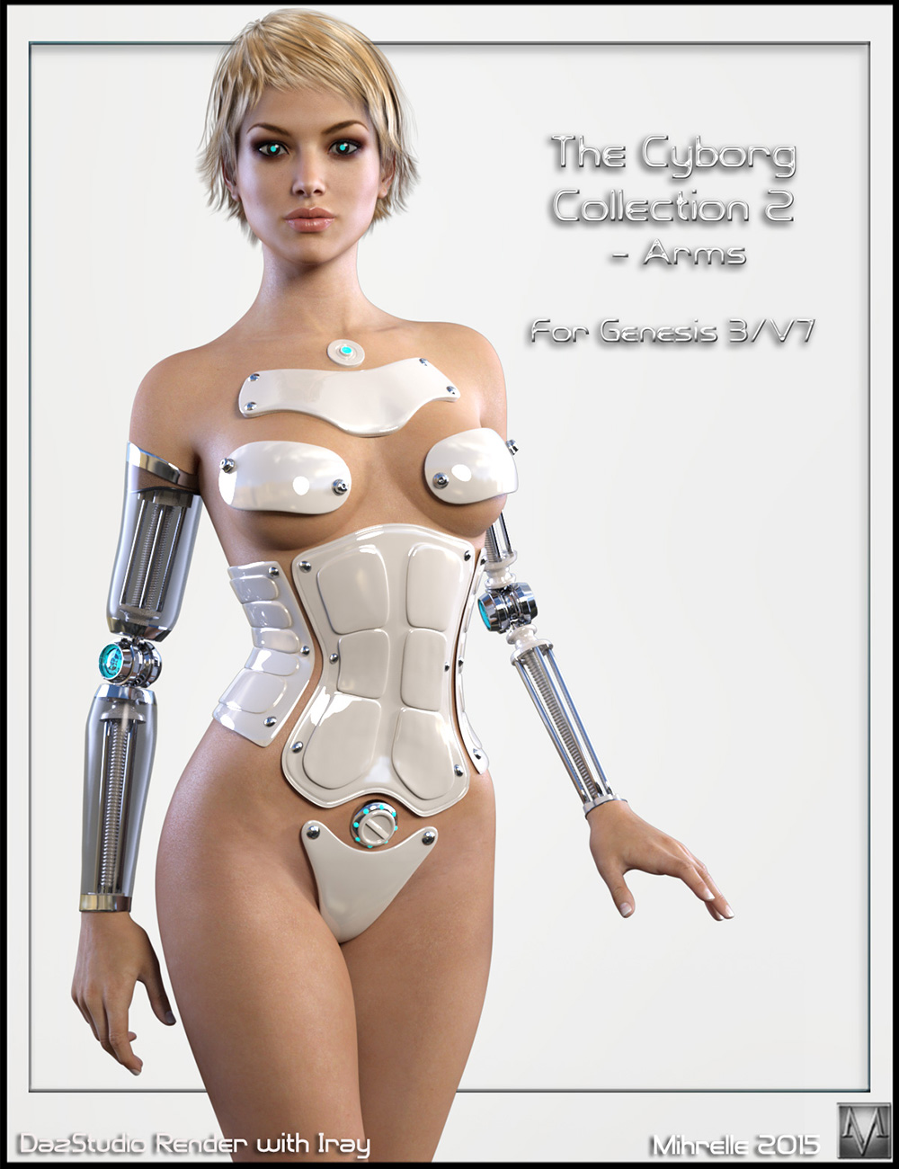 The Cyborg Collection 2 for G3F and V7