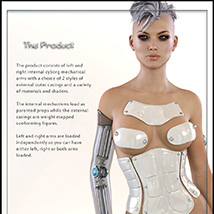 The Cyborg Collection 2 for G3F and V7 image 2