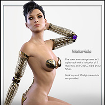 The Cyborg Collection 2 for G3F and V7 image 3