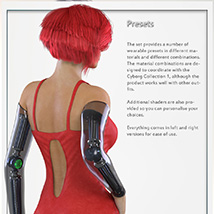The Cyborg Collection 2 for G3F and V7 image 4
