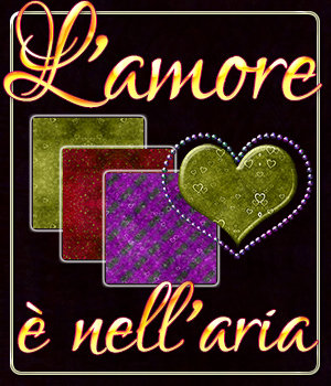 L'amore  nell'aria - Love Is In The Air MR 2D 3DSublimeProductions