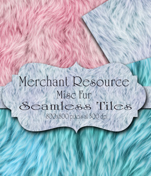 MR- Misc Fur 2D Graphics Merchant Resources antje