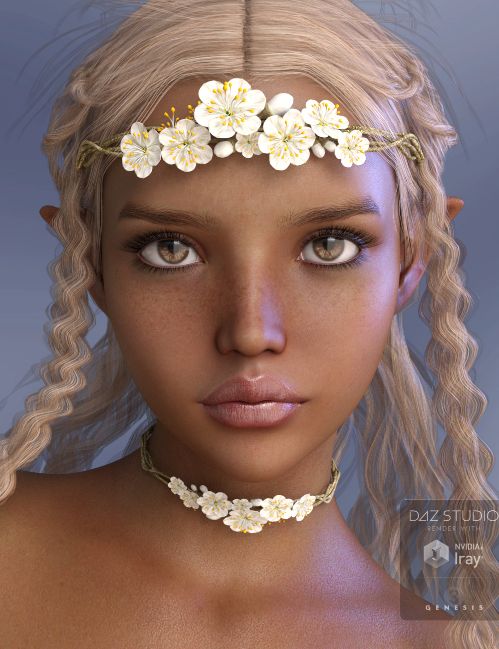 P3D Maria for Genesis 3 Female