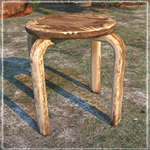Photo Props: Rustic Seating image 5