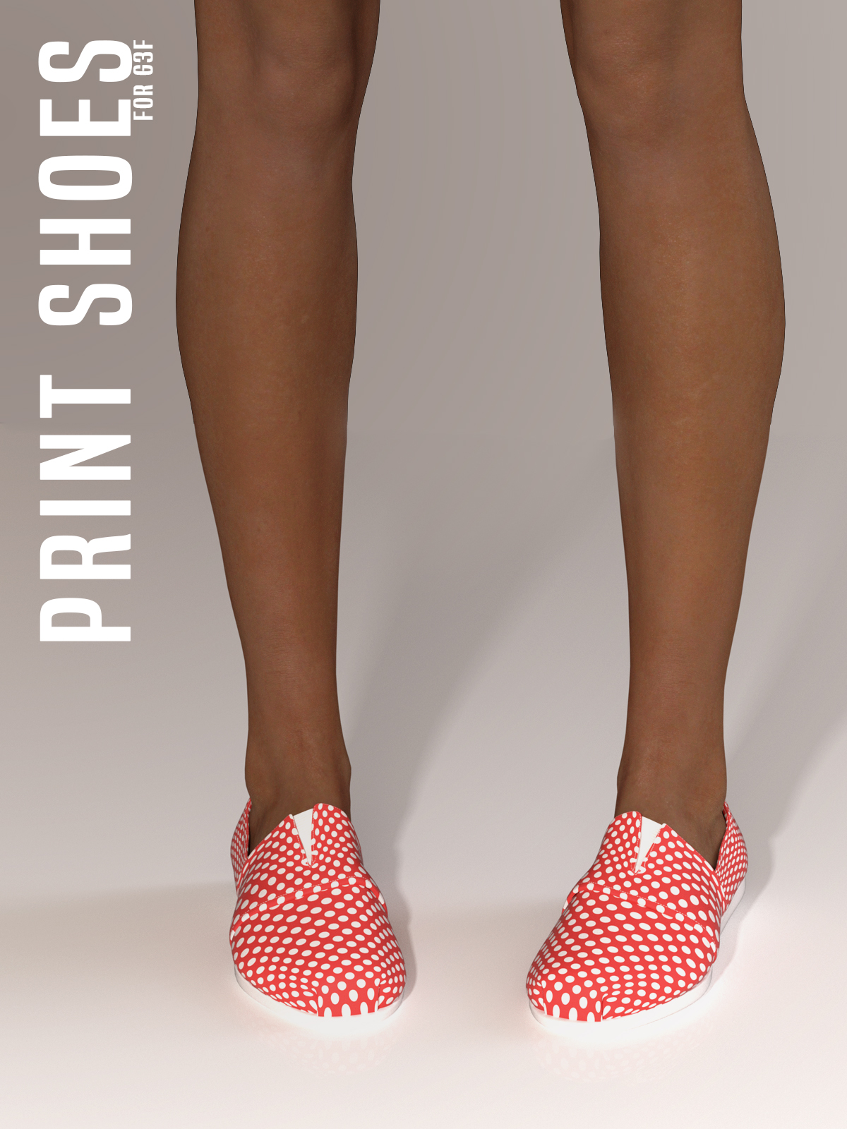 Print Shoes for G3F