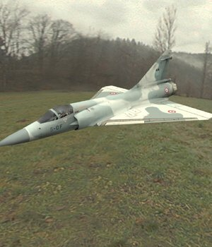 Dassault Mirage 2000 (for Poser) 3D Models Digimation_ModelBank