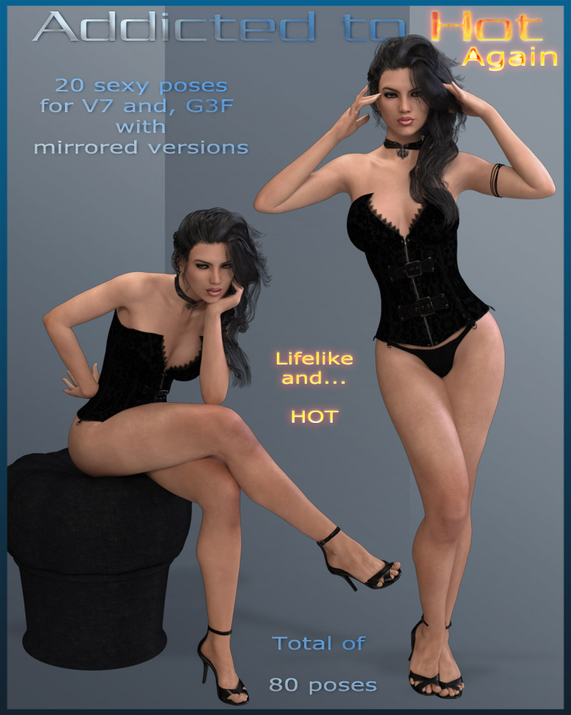 Addicted to Hot Again - G3F - V7 by ilona