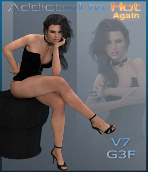 Addicted to Hot Again - G3F - V7 3D Figure Essentials ilona