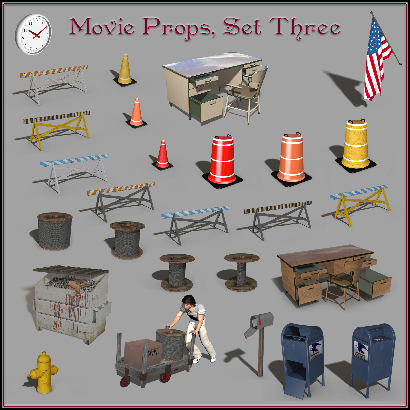 Movie Props, Set 03