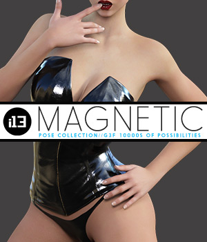 i13 MAGNETIC mega pose collection 3D Figure Assets ironman13