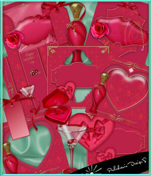 Saint Valentin 2D Graphics Merchant Resources Perledesoie