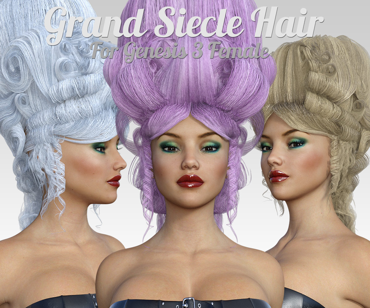 Grand Siecle Hair for G3 females