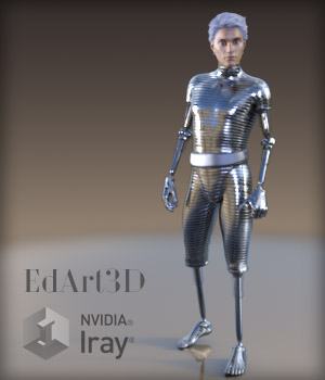 Android Phase1 for G3M/M7 3D Figure Essentials 3D Models EdArt3D