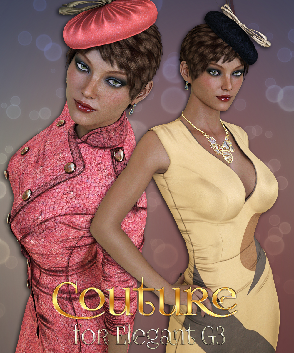 Couture for Elegant for Genesis 3 Females