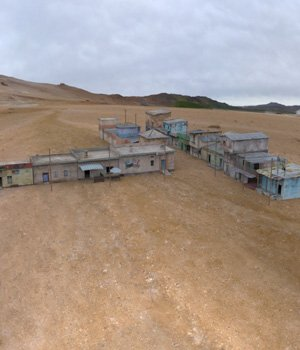 Shanty Town Buildings 2: Town Blocks for Poser 3D Models VanishingPoint