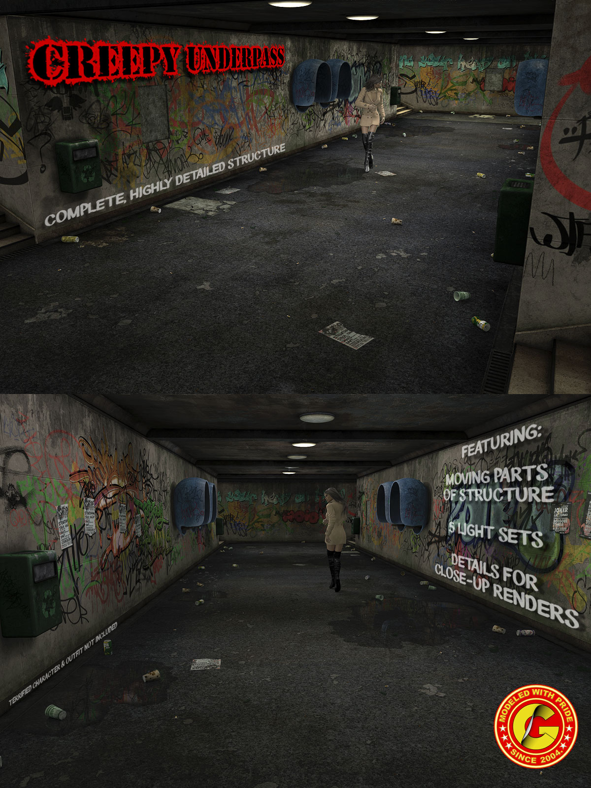 Creepy Underpass - Extended License