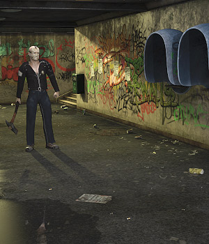 Creepy Underpass - Extended License 3D Models Extended Licenses coflek-gnorg