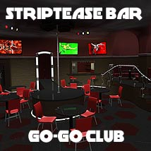 Striptease Bar - Extended License 3D Models Gaming Extended Licenses coflek-gnorg