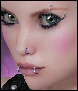 Twizted Metal Piercings 3D Figure Essentials TwiztedMetal