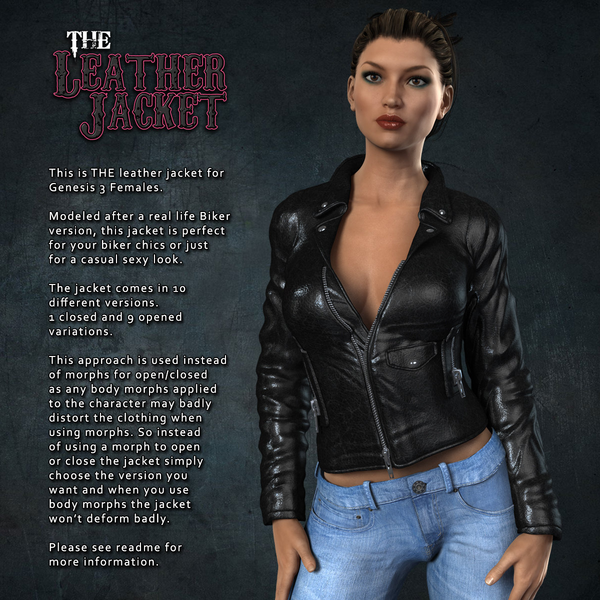 Exnem Leather Jacket for G3 by exnem
