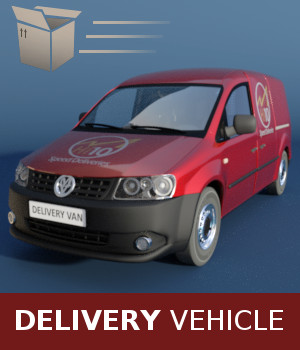Delivery Vehicle 3D Models TruForm