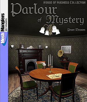 Parlour of Mystery 3D Models keppel