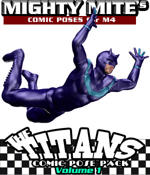 The Titans v01 MM4M 3D Figure Assets MightyMite
