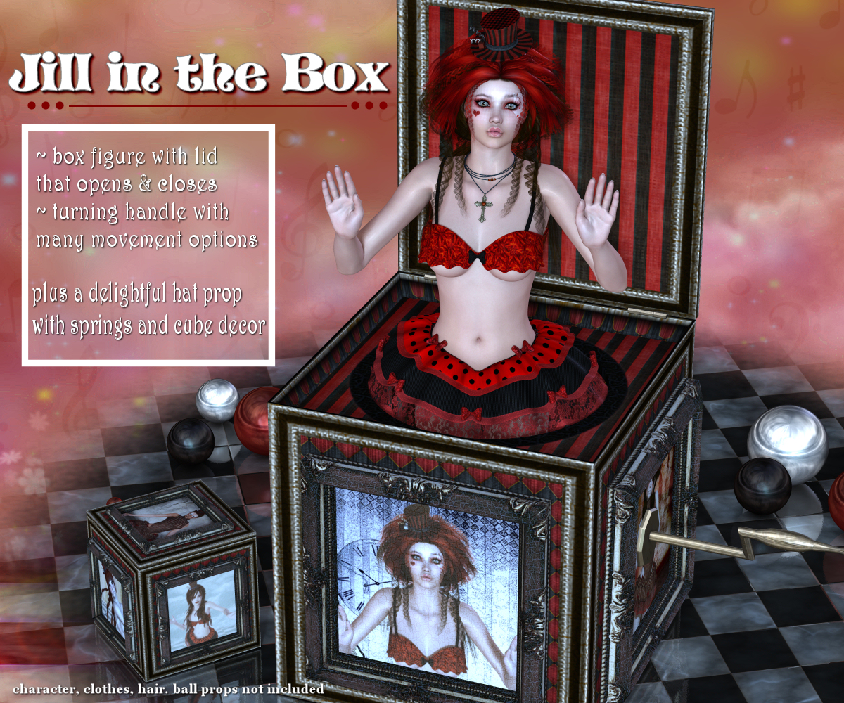 Jill In The Box by DivabugDesigns