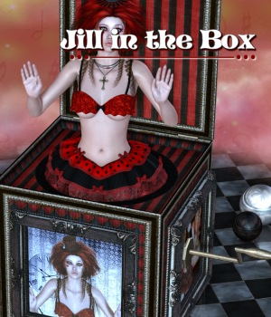 Jill In The Box 3D Figure Essentials 3D Models JudibugDesigns