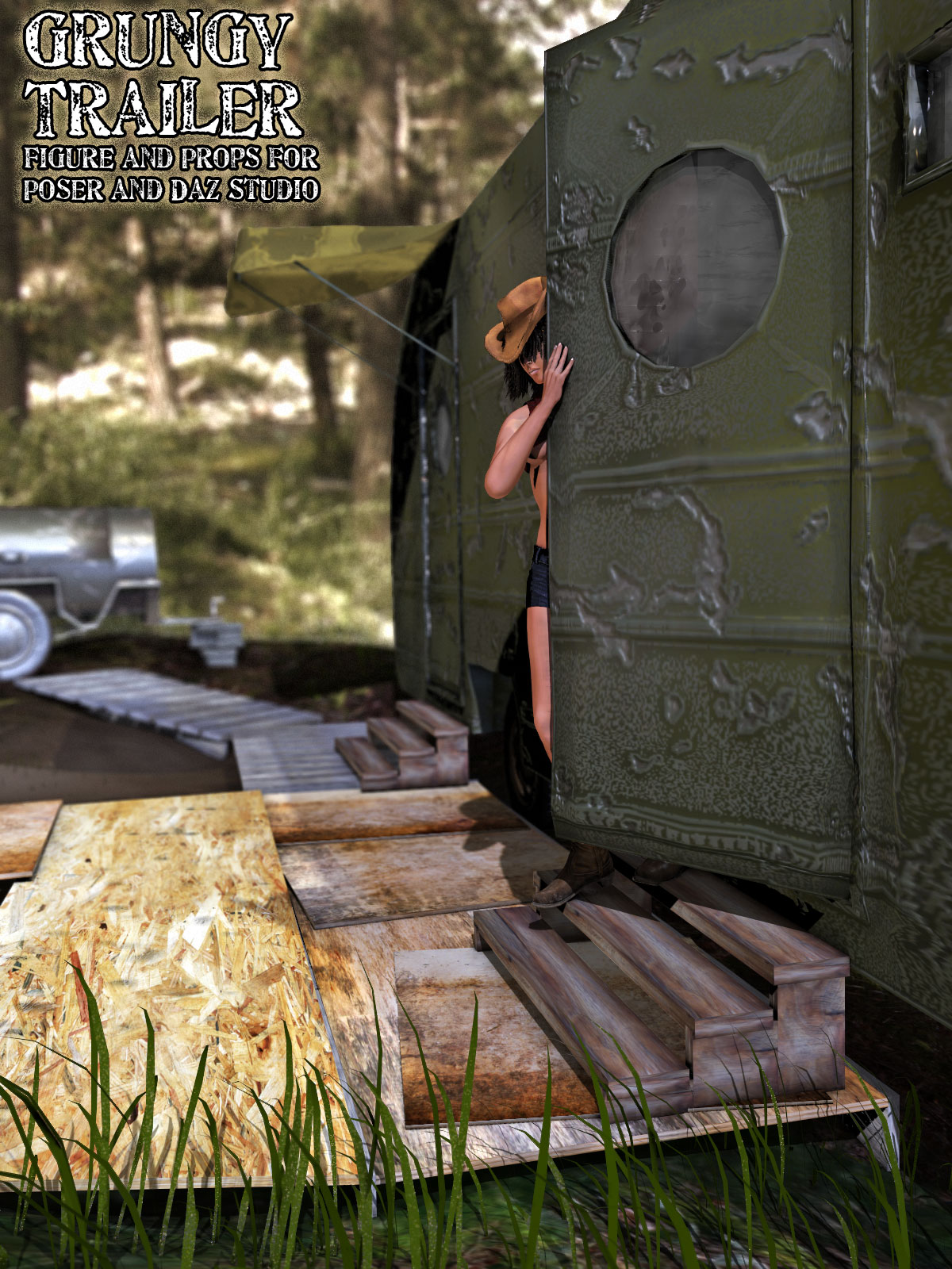 Grungy Trailer Props Set by RPublishing