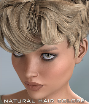 NaturalHC : Short Hair 3D Figure Essentials P3D-Art