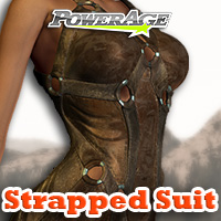 Strapped Suit - Extended License 3D Models 3D Figure Assets Extended Licenses powerage
