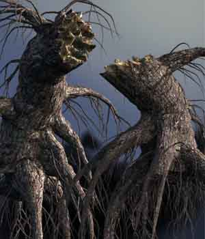 Stumps with roots DR - Extended License 3D Models Gaming Extended Licenses Dinoraul