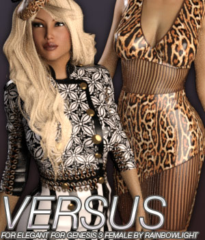 VERSUS - Elegant for Genesis 3 Female(s) 3D Figure Essentials Anagord