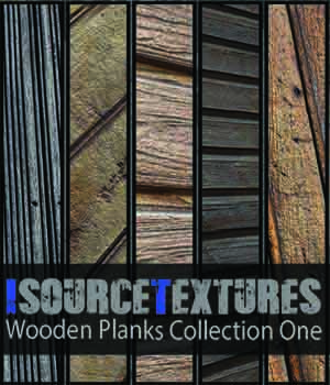 Wooden Planks Collection One - PBR Textures 2D KobaAlexander
