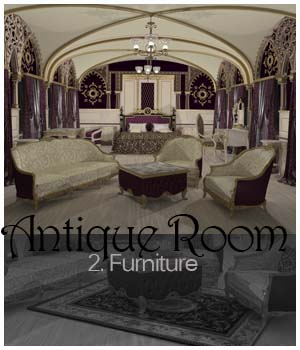 Antique Room - The Furniture 3D Models ICRDesign
