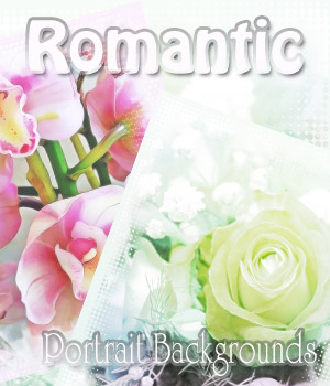 Romantic Portrait Backgrounds 2D antje