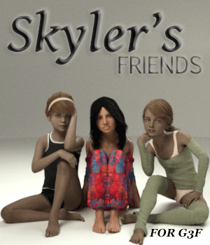 Skyler's Friends 3D Figure Essentials AliveSheCried