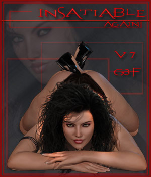 Insatiable Again - G3F - V7 3D Figure Essentials ilona
