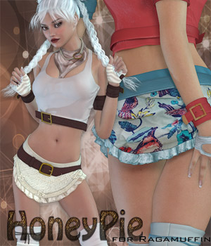 HoneyPie for Ragamuffin 3D Figure Essentials catatonia72