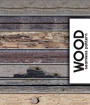 Wood :: Seamless Pattern