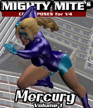 Mercury v01 : By MightyMite for V4 3D Figure Essentials MightyMite