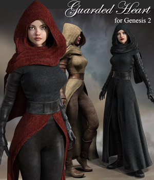 Guarded Heart Clothing for G2F 3D Figure Essentials RPublishing
