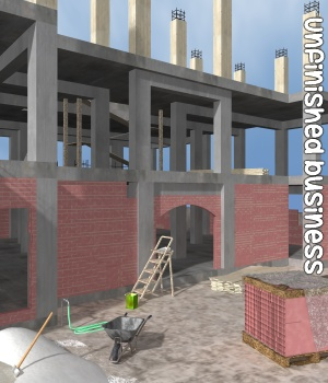Unfinished Business 3D Models Gaming Extended Licenses greenpots