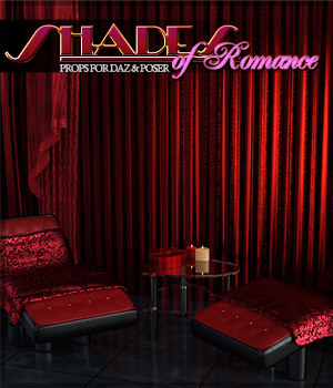 Shades of Romance DS and Poser 3D Models Sveva