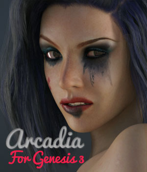 Arcadia for Genesis 3 3D Figure Essentials spows