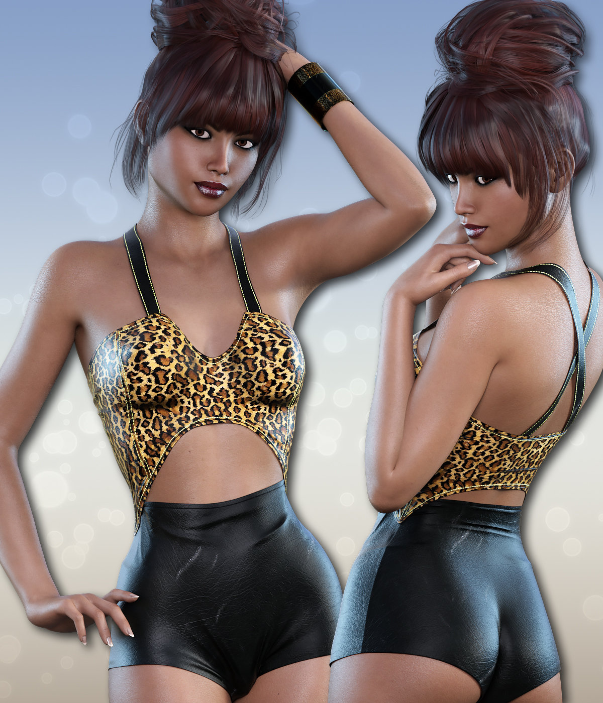 Snuggle for Teddy for Genesis 3 Female(s) by 3DSublimeProductions